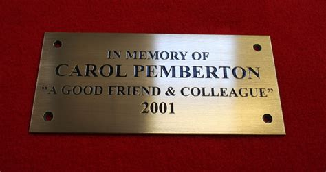 brass plaques for benches memorial plaques brass plaques brass signs