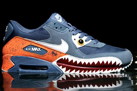 Nike Air Max 90 Piranha Custom by Nike Air Max 90 Piranha Custom Sneaker Freaker
