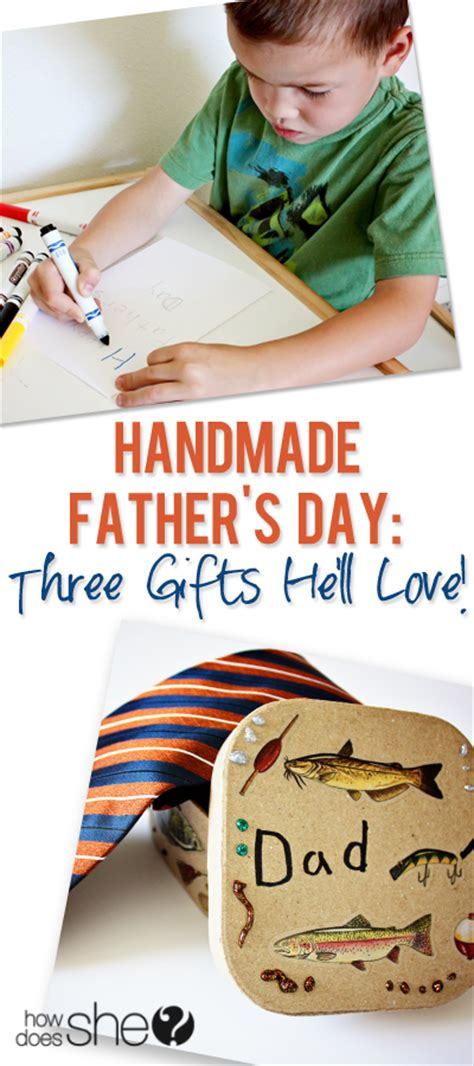 Handmade Fathers Day Presents - handmade s day
