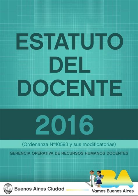 acuerdo salarial docente 2016 provincia de buenos aires estatuto docente 2016 provincia de buenos aires estatuto