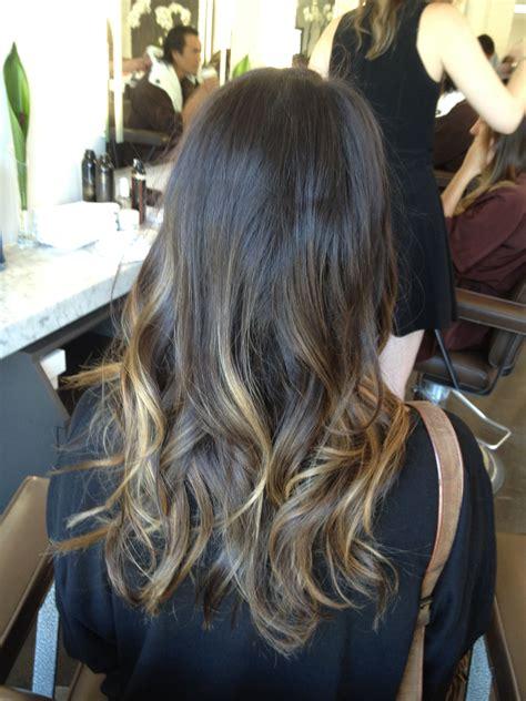ombre hair for brunettes brunette ombre jonathan george blog