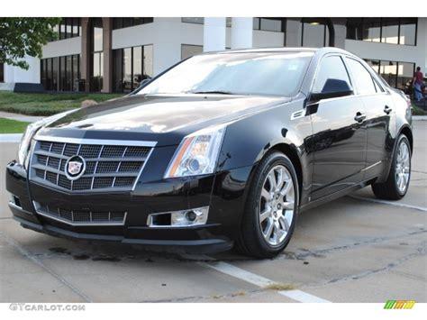 2008 cadillac cts sedan black 2008 cadillac cts sedan exterior photo