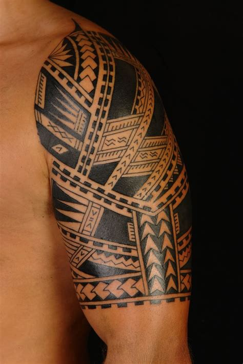 mens tribal half sleeve tattoos sleeve designs for pretty designs
