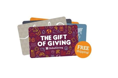 Global Giving Gift Card - gifts that give back charitable gift ideas 2015 familyeducation