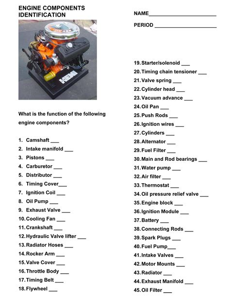 Tool Identification Worksheet by Tool Identification Worksheet The Large And Most