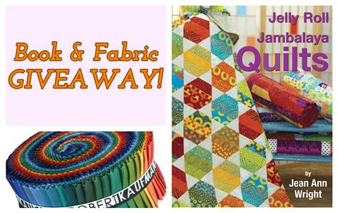 Book Giveaways And Contests - jelly roll fabric and book giveaway quilt books beyond
