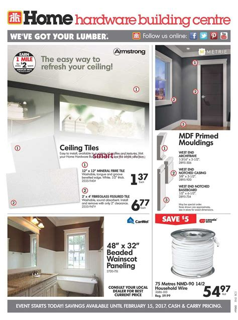 home hardware home hardware building centre bc flyer february 8 to 15