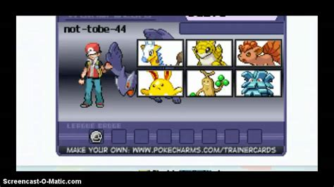 how to make trainer card how to make a trainer card