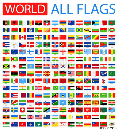 all flags word the biggest database of flags on the web quot all world vector flags vector collection of flat flags
