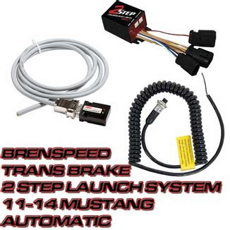 2 Step For Automatic Mustang brenspeed trans brake 2 step launch system 11 14 mustang