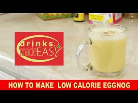 7 Foods To Make With Eggnog by How To Make Low Calorie Non Alcoholic Eggnog Drinks Made