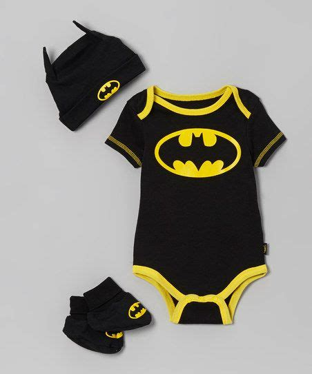gw225g set yellow batman black yellow batman booties set infant bats my
