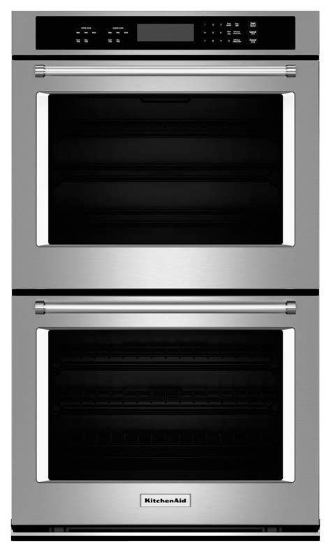 Kitchenaid 30 Quot Built In Double Electric Wall Oven Silver