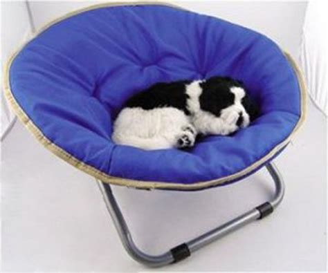 dog chair beds round dog chair bed fold collapsible cat med 40lb tan