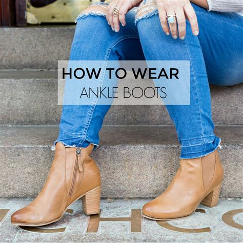 how to wear with boots how to wear ankle boots seven different ways autumn
