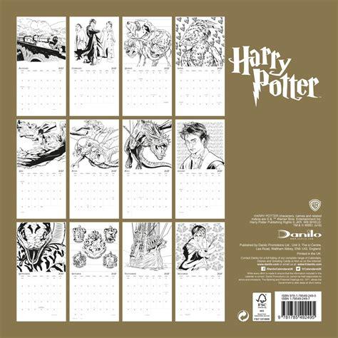 Calendar Harry Potter Calendario 2018 Harry Potter Europosters It