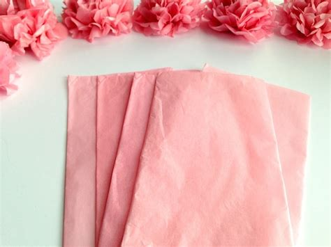 Tissue Paper Flowers Step By Step - diy hanging tissue paper flowers tutorial mid south