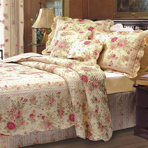 vintage comforters shop greenland home fashions antique rose collection the