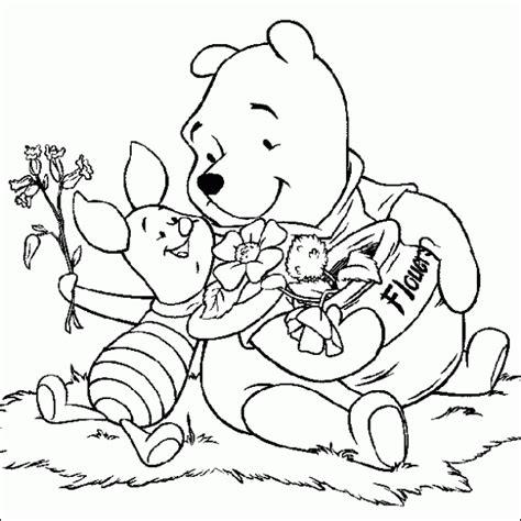 imagenes de winnie pooh sin pintar dibujos para colorear maestra de infantil y primaria