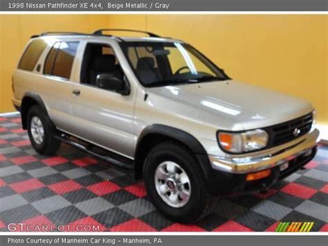 1998 beige metallic nissan pathfinder beige metallic 1998 nissan pathfinder xe 4x4 gray