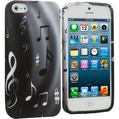 for iphone 5s 5 5g color tpu design soft rubber skin cover accessory ebay