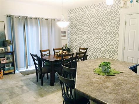 247 best stenciled painted dining rooms images on pinterest