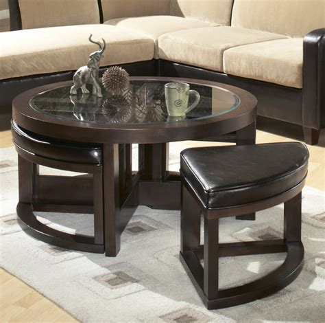 Coffee Table With Stools Underneath by 12 Varieties Of Coffee Tables With Stools Underneath