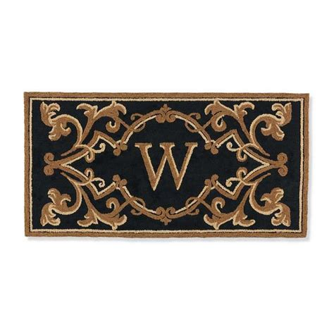 Monogrammed Door Mats by Fairmount Monogrammed Door Mat New House