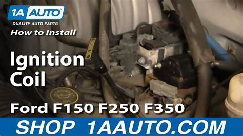 replace ignition coil ford     auto