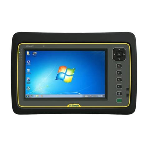 trimble rugged tablet trimble yuma 2 cl rugged tablet computer