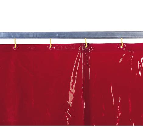 welding shield curtain welding curtain red h 1 600 x w 1 300 mm 1 30 kg