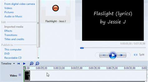 membuat video lagu cara mudah membuat video lirik lagu dengan cepat