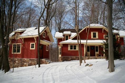 craftsman cabin craftsman cabin in the woods craftsman exterior