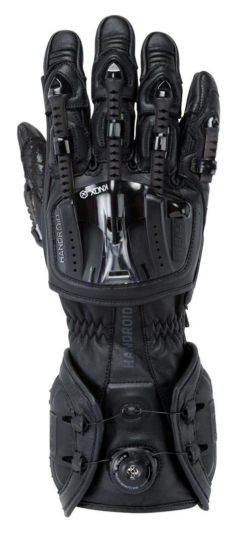 motorcycle gloves knox handroid gloves revzilla