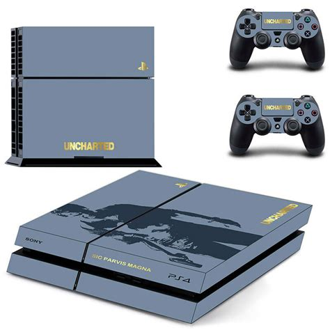 ps4 new console new the uncharted 4 skin sticker for ps4 playstation 4