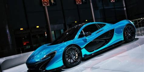 McLaren P1 Blue Cyan   HD Wallpapers