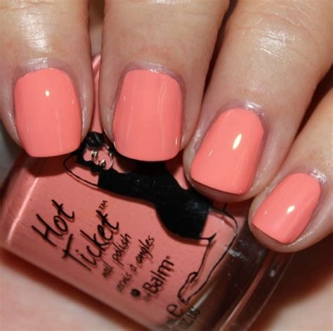 coral color nails coral color nail designs