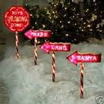 santa landing strip lights 4 pc santa landing lawn lights 11 05 2007