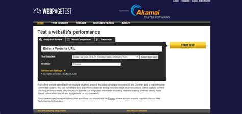 web page test webpagetest quiero