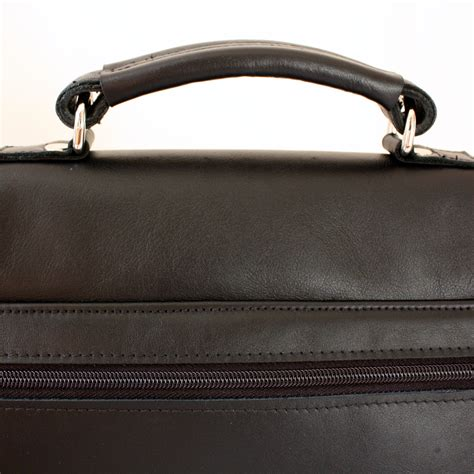 Handmade Leather Bags Accessories - black leather shoulder bag handmade by vank design
