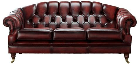 Chesterfield Sofa Ebay by Chesterfield 3 Seater Antique Oxblood Leather