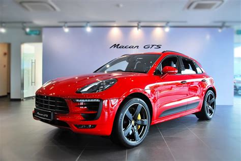 Porsche Macan Gts Debuts In Malaysia Autoworld Com My