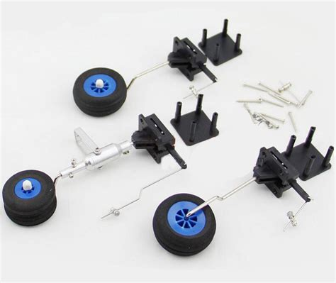 Aircraft Spare Parts Kit free shipping electric retractable landing ᗑ gear gear wheel steering ᐂ wheel wheel for rc