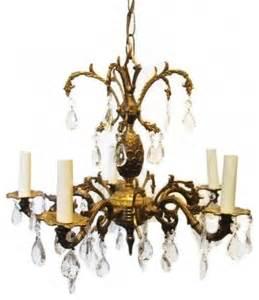 Spanish Brass Chandelier Spanish Brass Crystal Chandelier Traditional