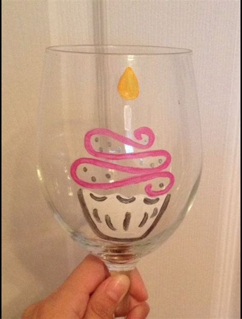 birthday drink wine 339 best images about wine glass painting on pinterest