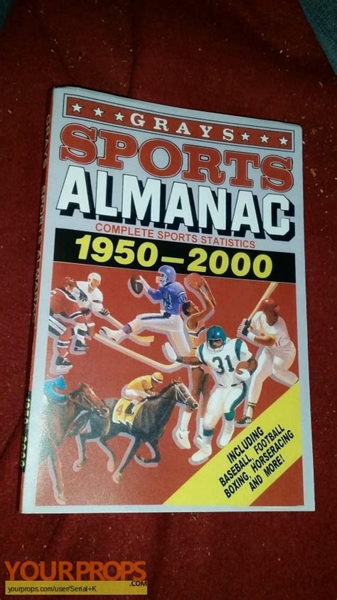 grays sports almanac back to the future 2 books back to the future 2 grays sports almanac 1 1 replica