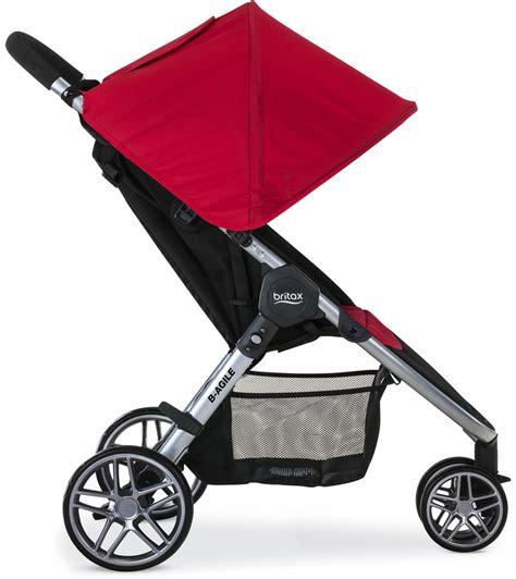 Britax B Agile Stroller Recline by Britax B Agile 3 Stroller