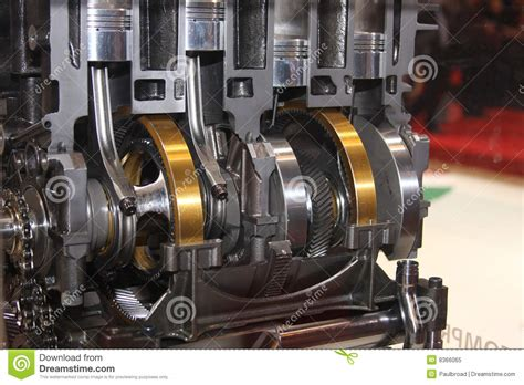 car engine mp3 car free engine image for user manual cutaway of crank and pistons in engine stock image