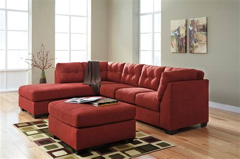 2 piece sectional sofa 2 piece sectional w sleeper sofa left chaise by