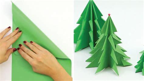 c 243 mo hacer un 225 rbol de navidad usando una hoja de papel